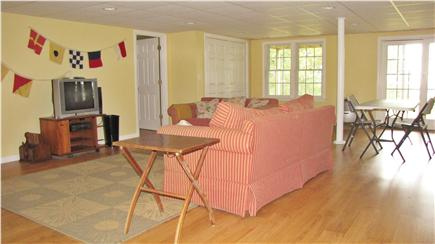 Chatham Cape Cod vacation rental - Huge Walk out basement with pullout sofa and seperate bedroom