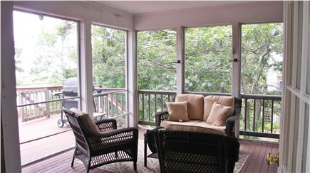 Chatham Cape Cod vacation rental - Screened in porch opens to large outdoor deck
