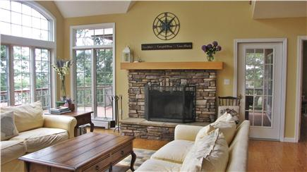 Chatham Cape Cod vacation rental - Great room  with fireplace