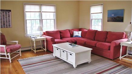 Chatham Cape Cod vacation rental - Den/tv room - frnch door opens to screened porch and deck
