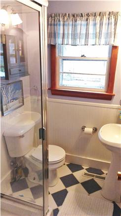 Eastham Cape Cod vacation rental - Bathroom with shower