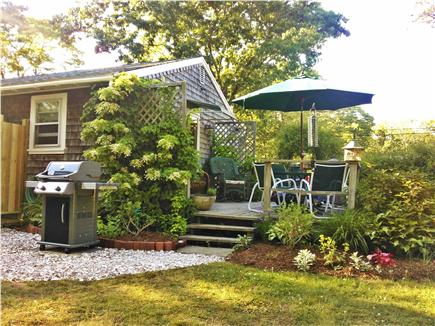 Eastham Cape Cod vacation rental - Private outdoor dining oasis