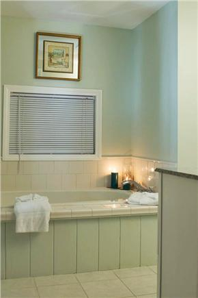 West Yarmouth Cape Cod vacation rental - Master bath jacuzzi tub