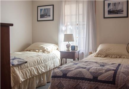 Eastham Cape Cod vacation rental - Bedroom with two twin beds, dresser and closet