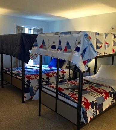 Hyannis Cape Cod vacation rental - Second Floor Bedroom, twin bunk beds & double bunk beds
