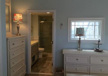 Hyannis Cape Cod vacation rental - Master Bedroom with King Bed & en-suite bathroom