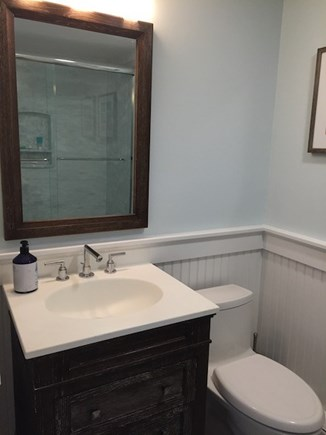 Hyannis Cape Cod vacation rental - First Floor Bathroom with a Full Shower/Tub