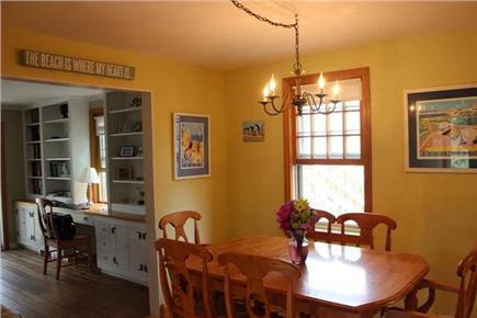 North Truro Cape Cod vacation rental - Dining area