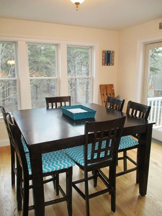 Wellfleet Cape Cod vacation rental - Dining Area - New furniture was replaced for 2021