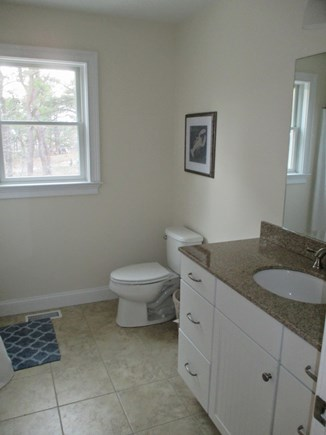 Wellfleet Cape Cod vacation rental - First Floor Bathroom with shower and laundry