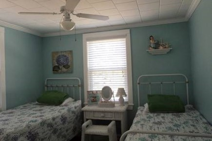 Dennis Cape Cod vacation rental - Twin bedroom downstairs #2