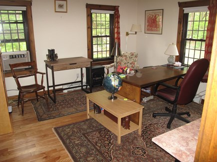 South Orleans Cape Cod vacation rental - First floor office, can convert to third bedroom