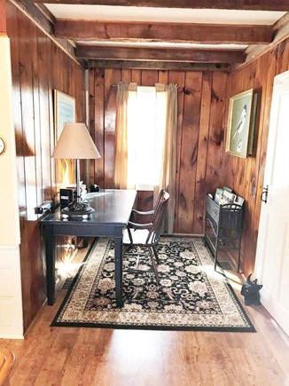 West Dennis Cape Cod vacation rental - Alcove next to dining room with desk