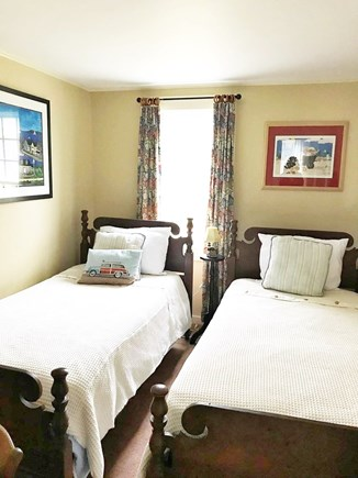 West Dennis Cape Cod vacation rental - 2nd bedroom, twin beds