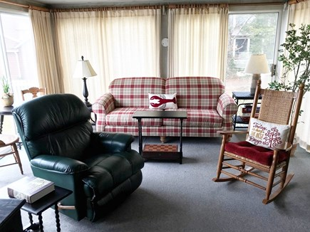 West Dennis Cape Cod vacation rental - Sunroom with views and access to deck