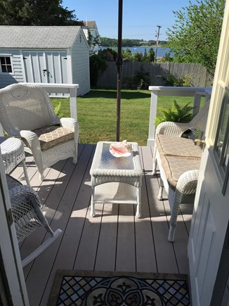 West Dennis Cape Cod vacation rental - View from deck to Bass River
