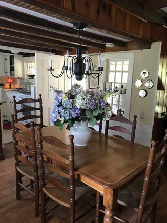 West Dennis Cape Cod vacation rental - Dining Room open to Kitchen