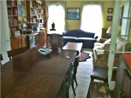 harwich Cape Cod vacation rental - Dining/ living room