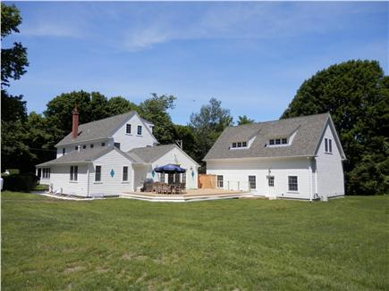 Brewster Cape Cod vacation rental - Gorgeous Yard and Deck area