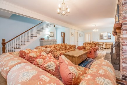 Brewster Cape Cod vacation rental - Front Living Area