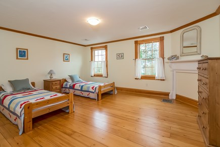 Brewster Cape Cod vacation rental - 2nd floor bedroom with 2 twins