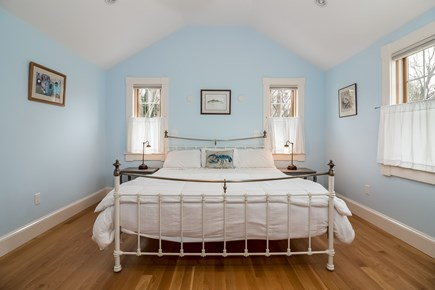 Brewster Cape Cod vacation rental - First Floor Master with King, Large Bathroom and walk in closet.