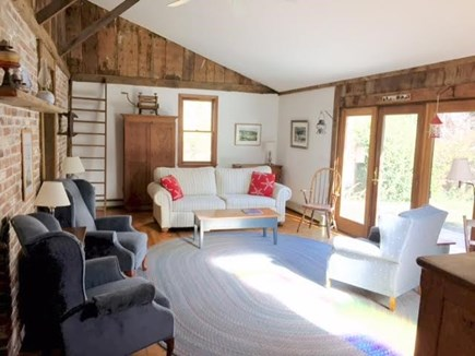 Wellfleet Cape Cod vacation rental - Bright, spacious living room with plenty of comfortable seating.