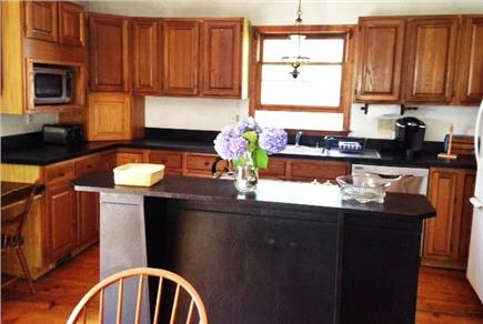 Wellfleet Cape Cod vacation rental - Fully-equipped open-concept kitchen.