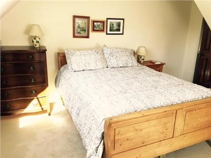 Wellfleet Cape Cod vacation rental - One of the three upstairs bedrooms (queen bed)