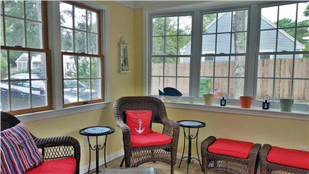 Dennis Cape Cod vacation rental - Sun Porch - my favorite room!