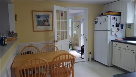 Dennis Cape Cod vacation rental - Eat in space kitchen just off porch