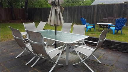 Dennis Cape Cod vacation rental - Patio and firepit