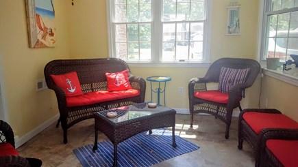Dennis Cape Cod vacation rental - Enclosed porch