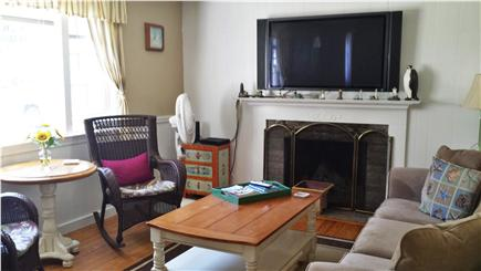 Dennis Cape Cod vacation rental - Living Rm with Flat Screen TV
