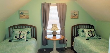 Dennis Cape Cod vacation rental - 2nd floor bedroom with twin beds