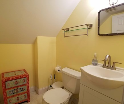 Dennis Cape Cod vacation rental - Half bathroom on 2nd floor