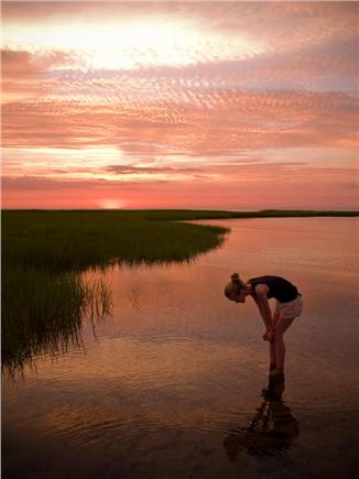 West Brewster Cape Cod vacation rental - A Paines Creek Sunset!