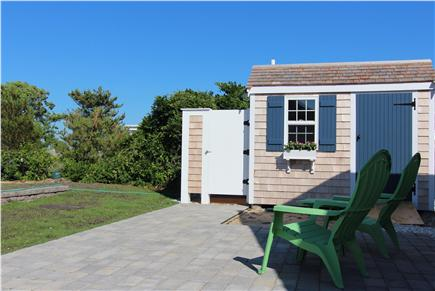Truro Cape Cod vacation rental - Patio, Outdoor Shower/Laundry