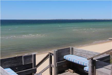 Truro Cape Cod vacation rental - Lookout To Beach Stairs