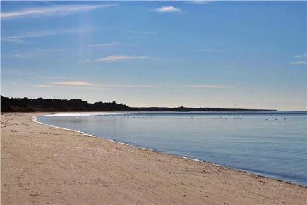 Truro Cape Cod vacation rental - Bay Beach At Bottom Of Stairs