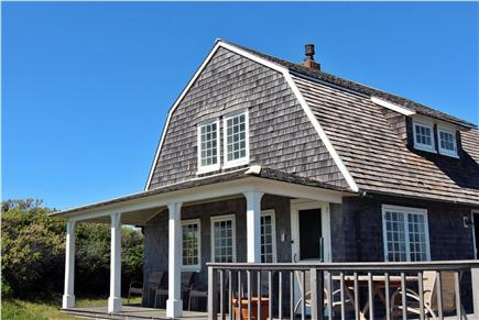 Truro Cape Cod vacation rental - View From Bluff