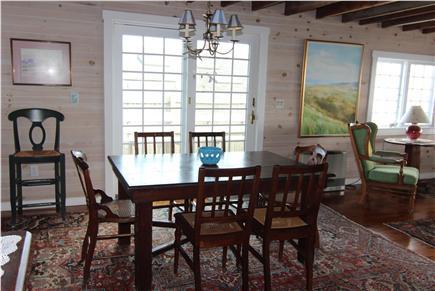 Truro Cape Cod vacation rental - Dining Room