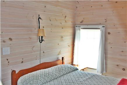 Truro Cape Cod vacation rental - Bedroom 1 - Double Bed Bayside With Water View
