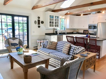 East Orleans Cape Cod vacation rental - Gourmet Kitchen/Great Room with Island for 3