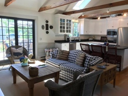 East Orleans Cape Cod vacation rental - Gourmet Kitchen/Family Room with #2 Fireplace