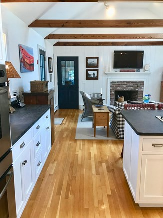 East Orleans Cape Cod vacation rental - Large Gourmet Kitchen/Great Room with Island