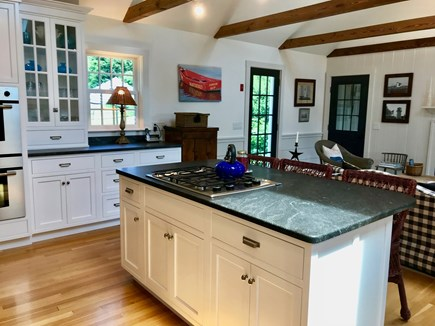 East Orleans Cape Cod vacation rental - Large Gourmet Kitchen/Great Room Island seats 3