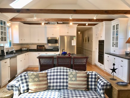 East Orleans Cape Cod vacation rental - Gourmet Kitchen/Great Room with Island seats 3