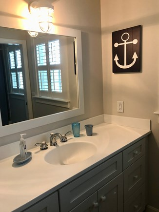 East Orleans Cape Cod vacation rental - 2nd Floor Full Bathroom with Tub/Shower