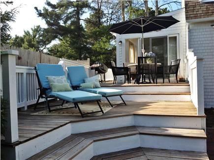 Osterville Osterville vacation rental - Spacious deck for relaxing and dining